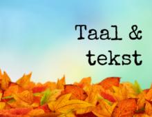 Tuin schrijft, herschrijft en redigeert teksten